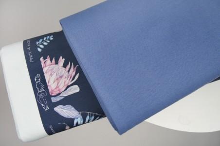 Bündchen Taubenblau