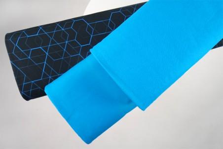 Bündchen türkisblau